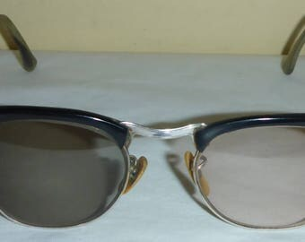 Vintage 1950's Bausch & Lomb Gold Filled Prescription Eye Glasses