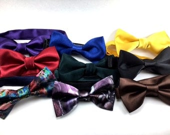 Satin Bow Ties for Men