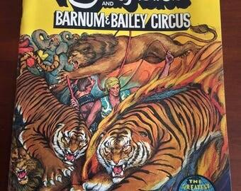 1971 Ringling Brothers Circus Souvenir Program