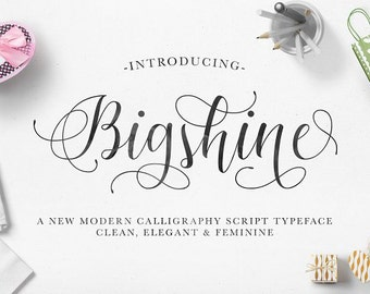 Stunning handwritten font - Handwritten and watercolor font download. Calligraphy font. Get these downloadable fonts, perfect for wedding