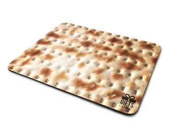 Matzoh Gift - Passover  Gift - Matzah - Pesach - Funny Passover - Mousepad - Office Gift - Coworker Gift - Bespoke Passover
