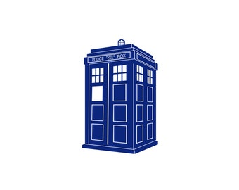 TARDIS Decal - Doctor Who Vinyl Decals, Doctor Who Tardis, Doctor Who Decal