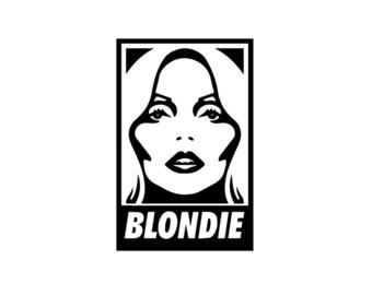 Blondie Magnet - Deborah Harry, Rock Decor, Fridge Magnet, 80s, Rock N Roll