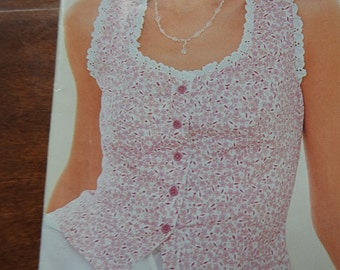 New Look Women's Summer Blouses Sewing Pattern