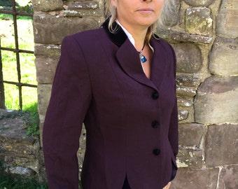 Lord & Taylor, Size 10 Womens Jacket Plum Purple