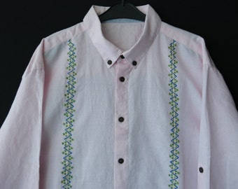 FINAl SALE!!! Men's hand painted shirt