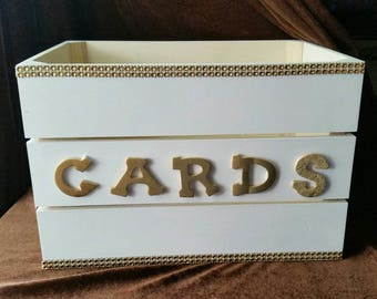 Gift card box, Wedding card holder,  Graduation Card Box,  Gift card holder,  free shipping