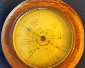 Atco 1951 weather guide baroromater