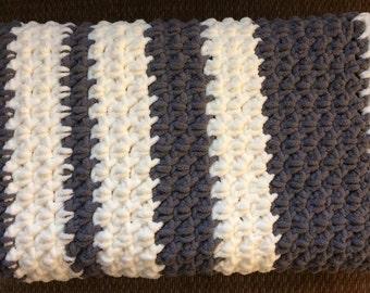 Handmade Crocheted Infant/Baby Blanket