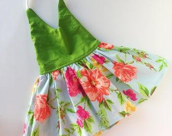 Floral halter dresses