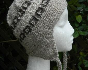 Hand Knitted Earwarmer Hat