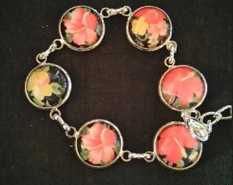 "Bronze bracelet ""flowers"""
