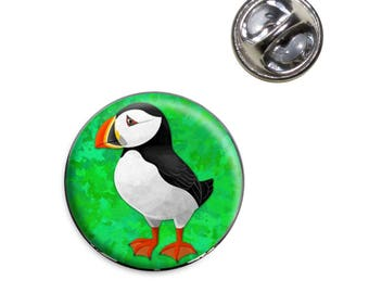 Puffin Lapel Hat Tie Pin Tack