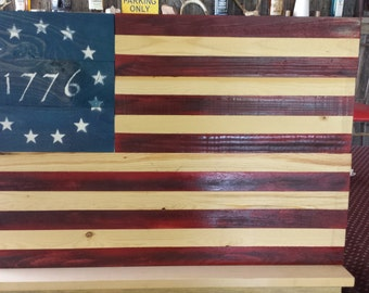 1776 Classic, Rustic, Pallet Wood, Wall Hanging