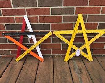Folding Ruler Stars