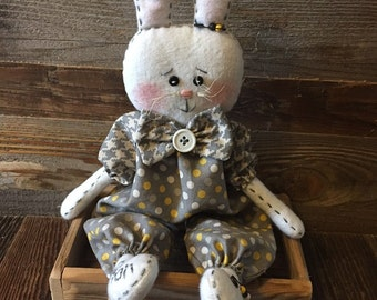 Little Cotton Bunny Doll