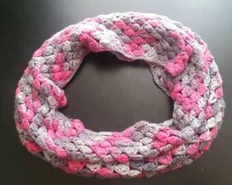 Loro piana cashmere cowl (crocheted )