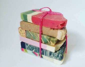 Soap Bundle Sample Soap Travel Size Cold Process Soap
