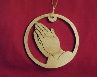 Praying Hands Ornament Made in Maine