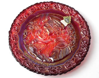 Vintage Fenton Mother's Day Plate 1979