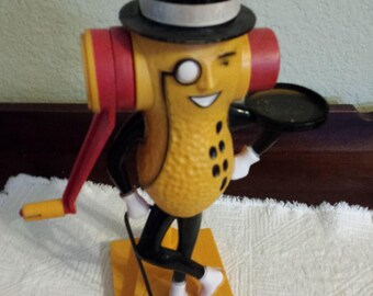 Vintage Mr. Peanut Plastic Figural Peanut Butter Maker, Collectible Advertising