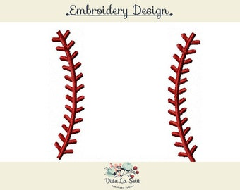 Instant Download Baseball Laces,  Softball Laces , Monogram frame Embroidery Design
