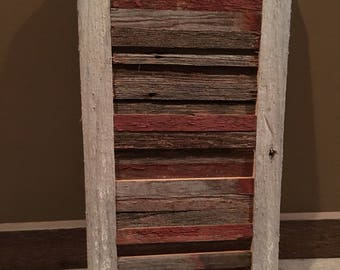 Custom Authentic Minnesota Barn Wood Wall Hanging