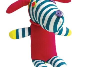 Dog Craft Kit, Sock Dog Craft Kit, Children's Craft Kit, Children's Sewing Craft Kit, Make a Dog Craft Kit, Children's Craft Kit, Birthday