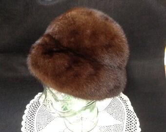 Vintage Ladies' Mink Hat