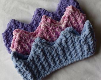 Hand Knit Crown Headwarmer