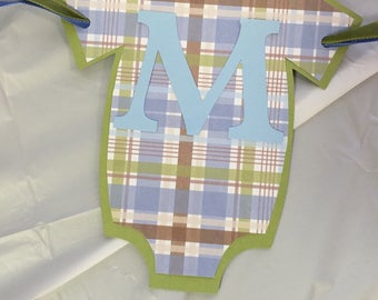 Baby Shower Name Banner
