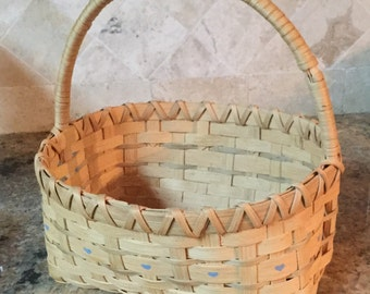 Handmade market basket.