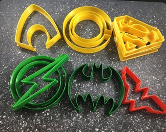 ULTIMATE Justice League of America Cookie Fondant Cutter
