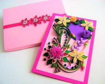 Birthday Card for Girlfriend,Wife,Daughter,Mum,Sister,Auntie,Happy Birthday Card 20th 21th,30th,40th,50th,60th,70th,80th,90th,100th Birthday