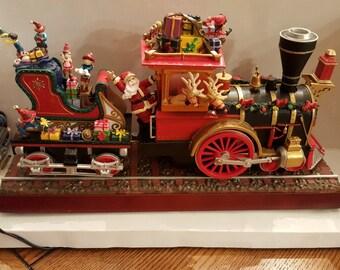 Mr. Christmas train christmas train Mr Christmas Santas Express animated train