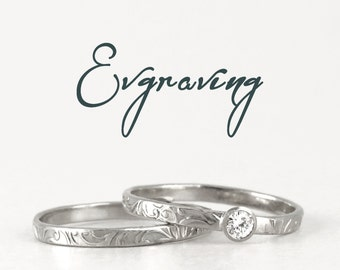 Custom laser engraving - choose your personalized engraving