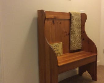 Vintage - Shaker Warming Bench by Yield House