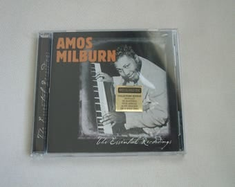 "Amos Milburn ""The Essential Recordings"" CD"