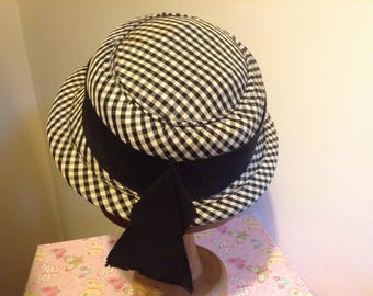 1930s boater hat