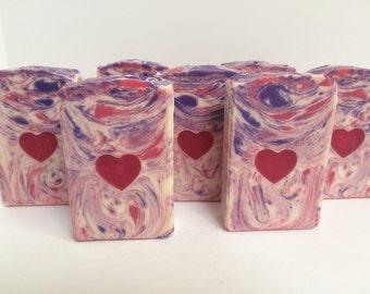Raspberry Rose Hibiscus Tea/Cocoa Butter