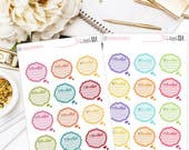 Be Thankful- Planner Stickers, Bujo Stickers, Traveler's Journal Stickers,  Daily Stickers, Functional Stickers, Thankful Stickers, Planning