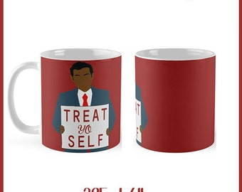 Parks and Recreation Treat Yo Self 325ml Mug