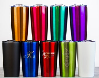 20oz personalized laser engraved Himalayan Tumbler