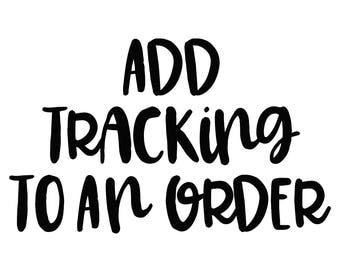Upgrade Shipping with Tracking