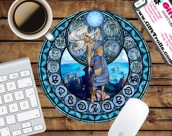 Kida - Kingdom Circle Mouse Pad - Mousepad - CoWorker Teacher Gift - Atlantis - Milo - Lost Empire - City