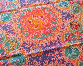 "6""x6"" FOLLOW THE SUN Lilly Pulitzer Fabric"