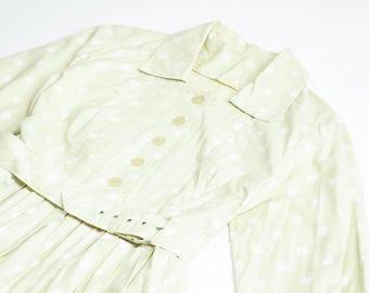 VINTAGE - 60s pois dress
