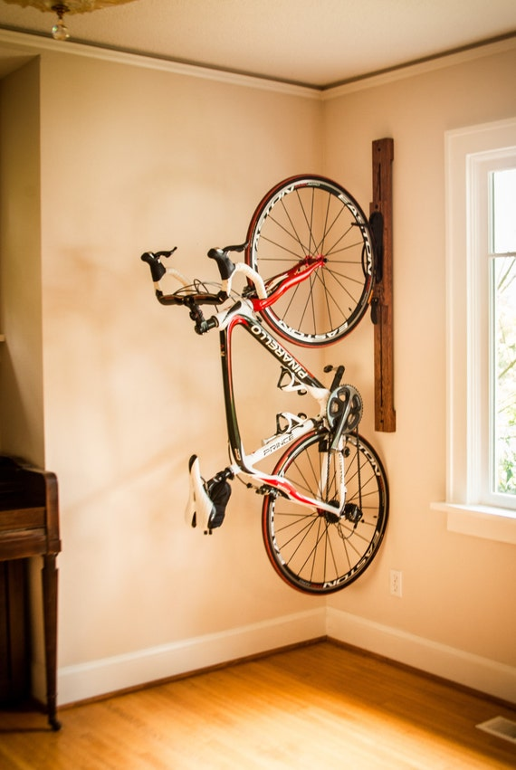 Bike Rack 4 Adjustable Vertical Wall Mount For Home Or
