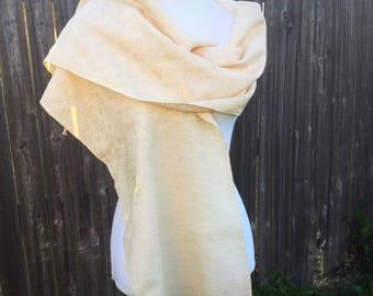 Bridal wrap - handwoven wrap - ivory wrap - lace scarf - wedding shawl - scarf shawl - white shawl - ivory shawl - ivory lace