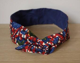 Headband - Liam wax flowers - unique frame